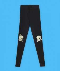 gold-star-eye-skull-patch-leggings-bl1