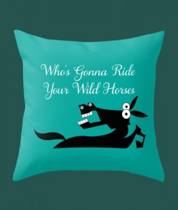 throw-pillow-horse